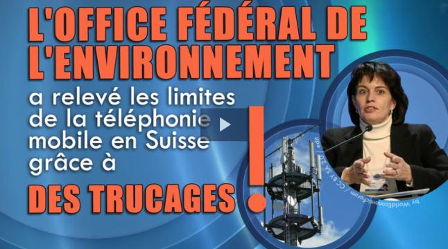 L'Office fédéral de l'environnement a relevé les limites de la téléphonie 5G - 2018